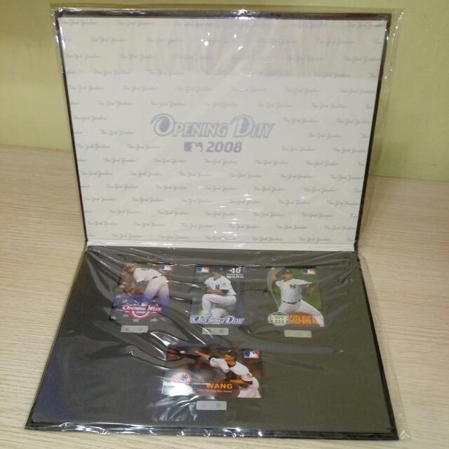 王建民悠游卡2008開幕先發版全套4入