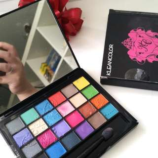 Kleancolor Alphagirl Perfectionist Shadow Kit