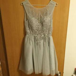 Short Gown Dress
