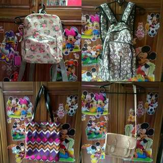 Slingbag, Totebag(Sold) Dan Backpack
