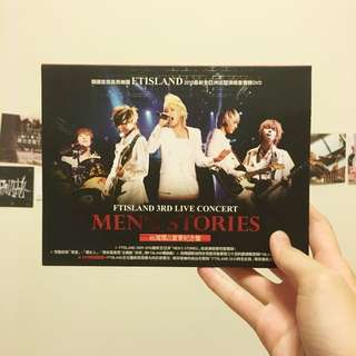 FTIsland - 3rd Live Concert : Men's Stories (DVD)