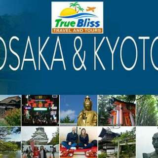 4D3N OSAKA + KYOTO All-in Package at P30,999/person (min 4)