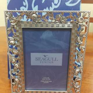 Seagull Royal Selangor Pewter Photo Frame