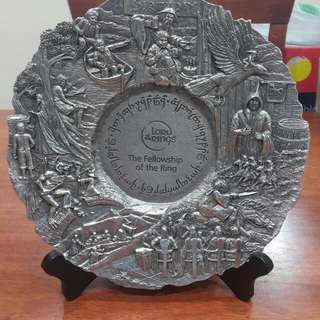 Royal Selangor Pewter Happy Birthday Plate
