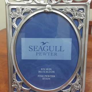 Royal Selangor Pewter Seagull Photo Frame