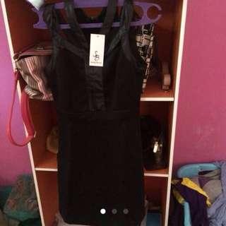 Dress Mini Black Something Borrowed