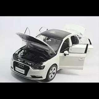 Audi A3 Sedan 2014 Model Diecast 1:18 Scale