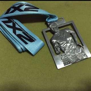 2XU 2013 Compression Run Finisher Medal