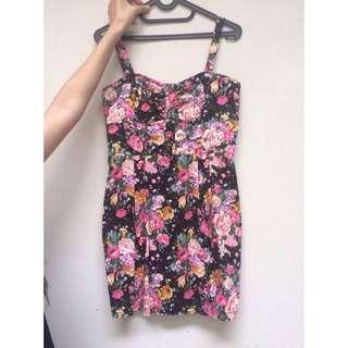 Mango Floral Dress