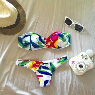Cheeky floral Bikini