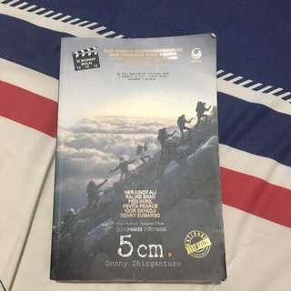 Buku Novel Best Seller 5cm By Donny Dhirgantoro