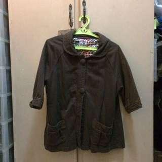 ROXY Brown Coat
