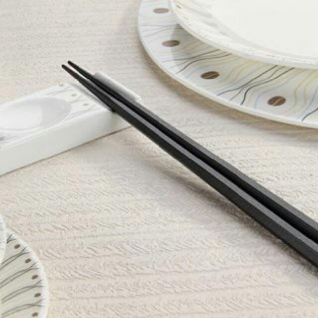 全新日式六角合金筷5雙