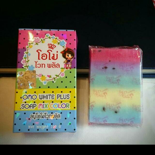彩虹美白皂(保證真品)另有升級版哦!
