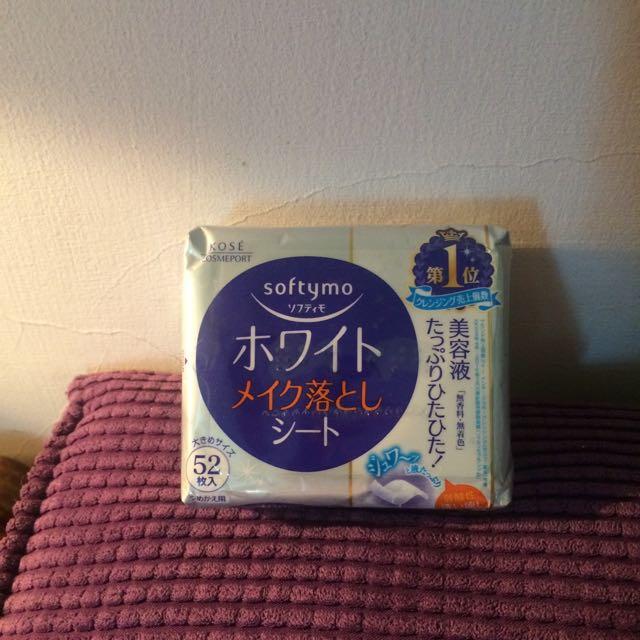 Kose極度好用的日本保濕卸妝棉