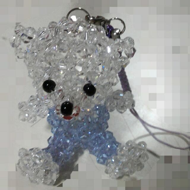小熊鑽石吊飾🐻
