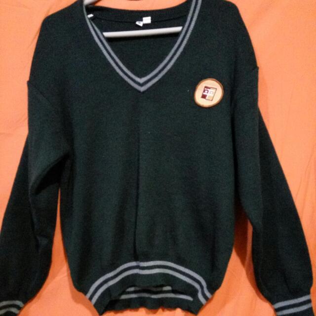 平鎮高中墨綠色毛衣