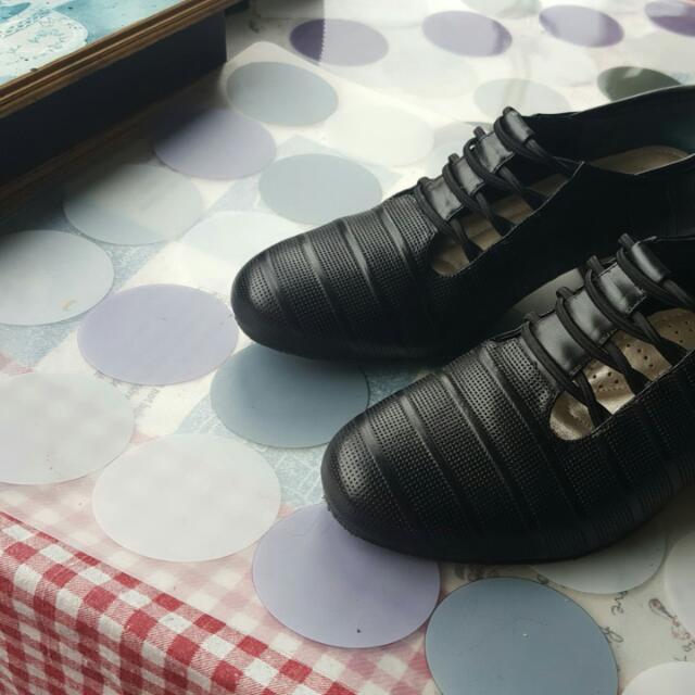 黑色 舞鞋