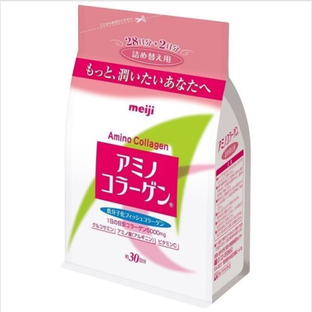 日本 現貨 明治 膠原蛋白粉