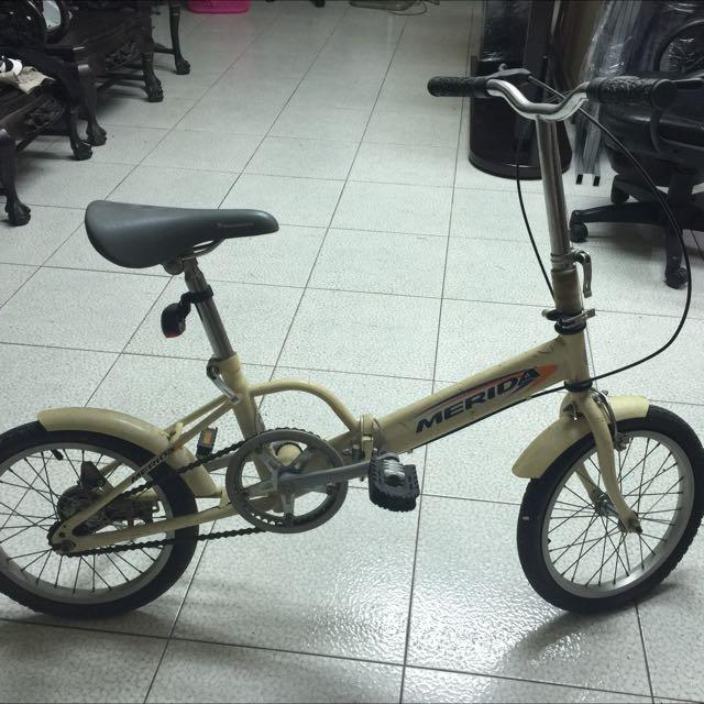 美利達 Merida 折疊腳踏車