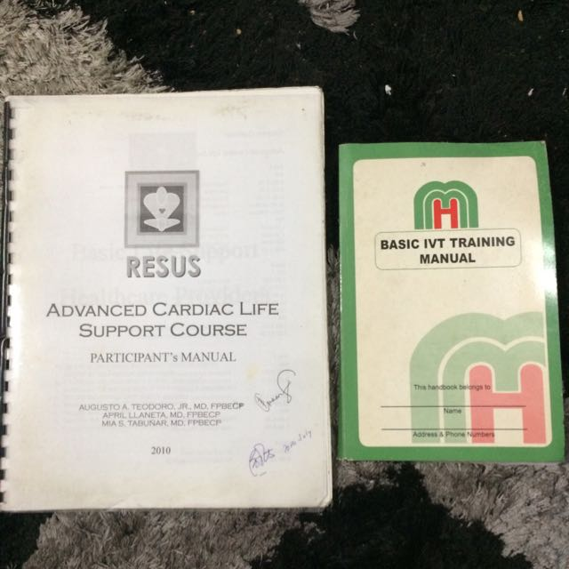 ACLS And IVT Manual
