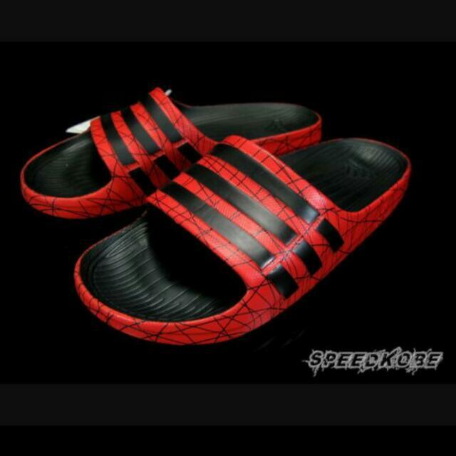 徵求!adidas 拖鞋(紅色爆裂紋)