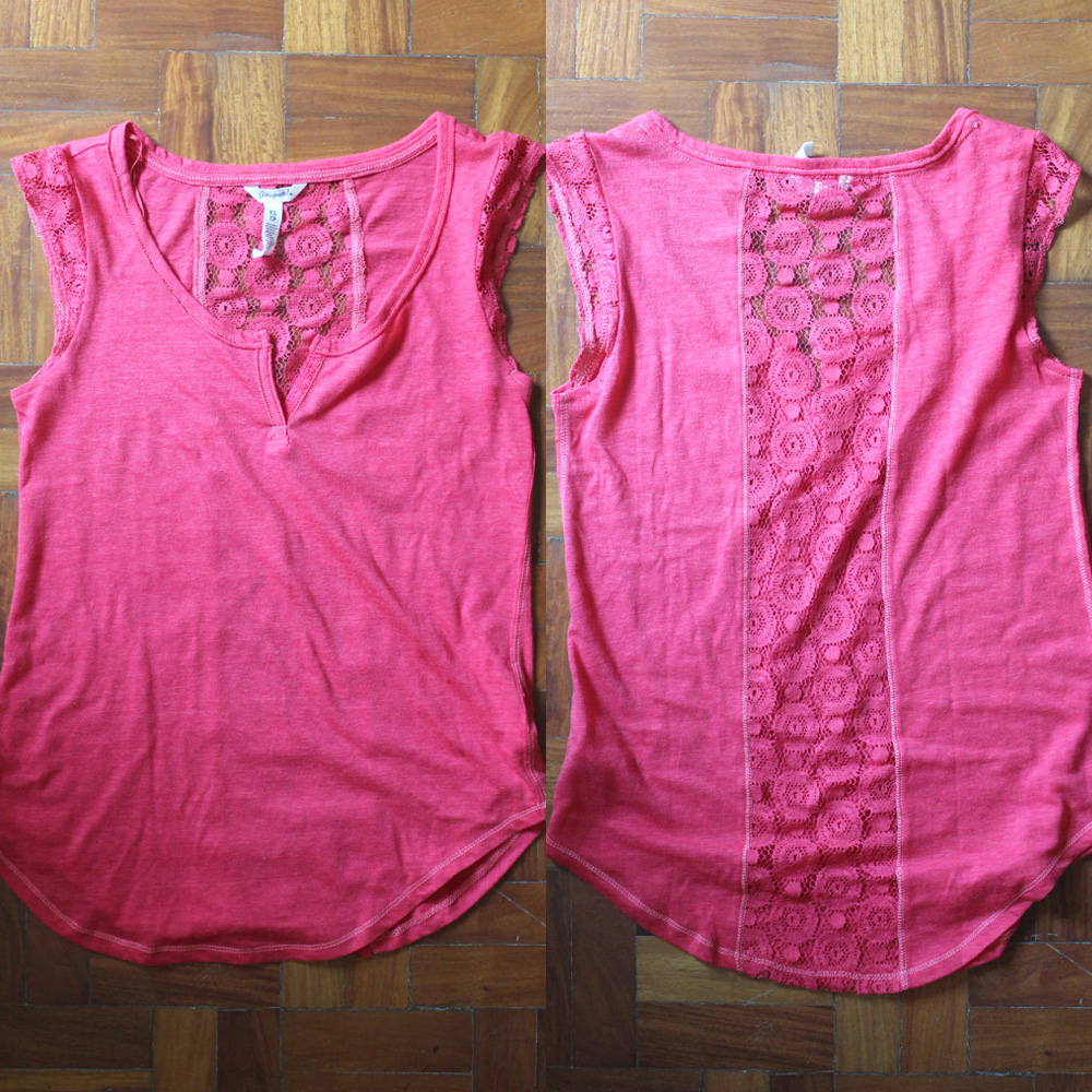 REPRICED: Aeropostale Sleeveless T – XS P100