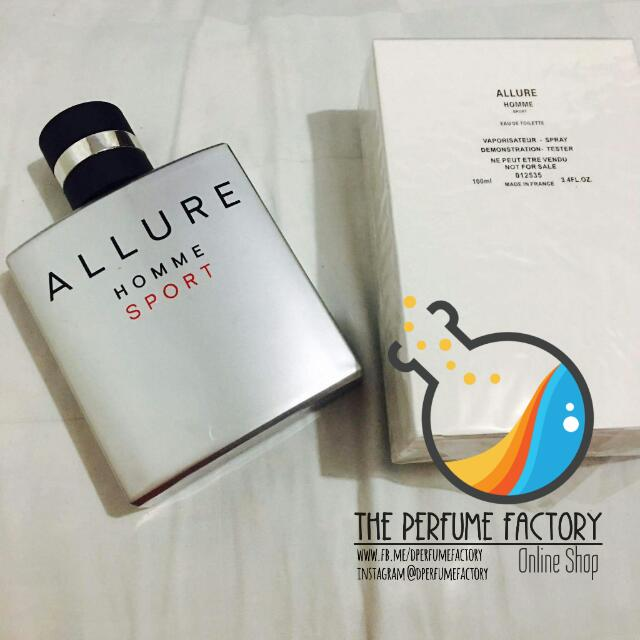 Authentic Perfume Tester