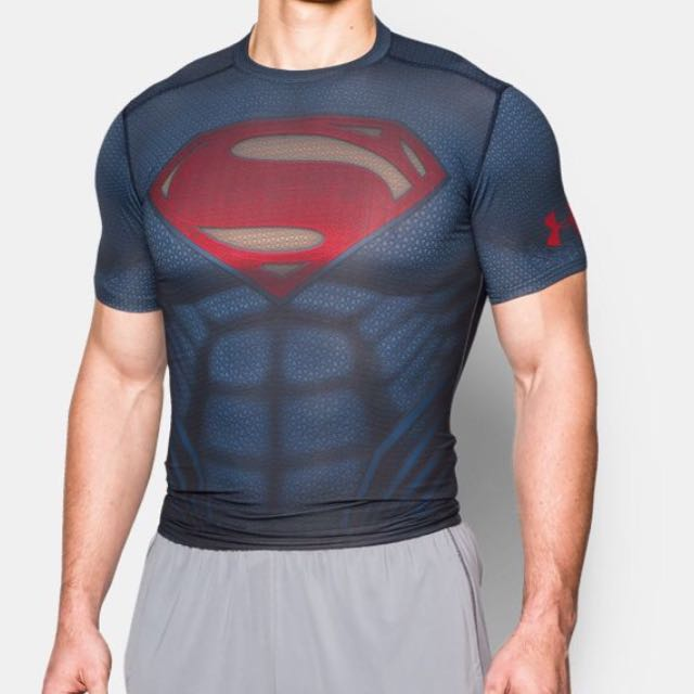 Provisional Rafflesia Arnoldi Oblongo  Authentic Under Armour Superman Compression Shirt, Sports, Sports Apparel  on Carousell