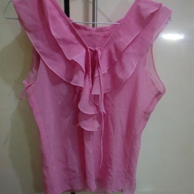 Blouse Pink Outer