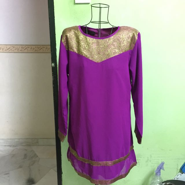 Punjabi Blouse Purple