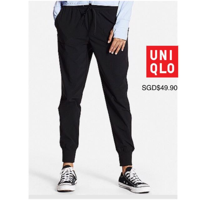 5171325483 BNWT Sz L Uniqlo Women's Dry Stretch Jogger Pants, Women's Fashion, Clothes  on Carousell