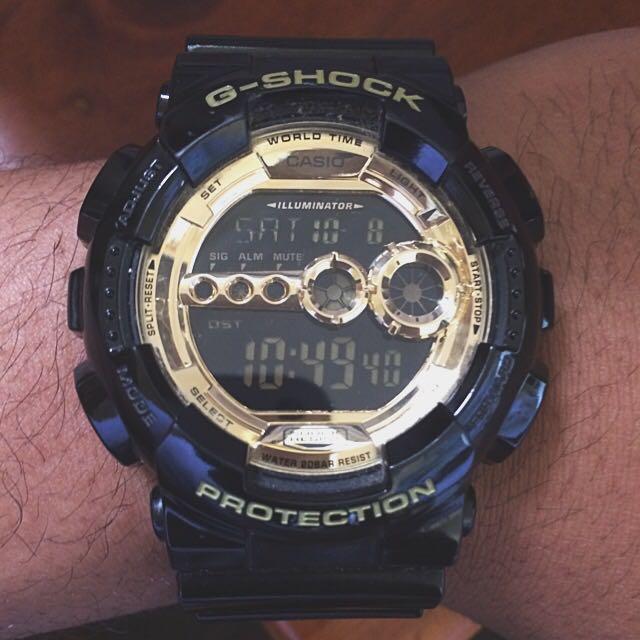 Casio Black x Gold G-shock