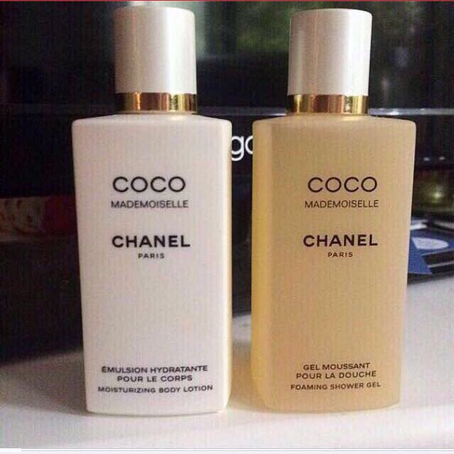 CHANEL: Mademoiselle Body Lotion And Showergel