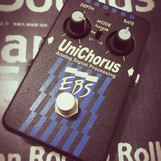 EBS unichorus bass 效果器