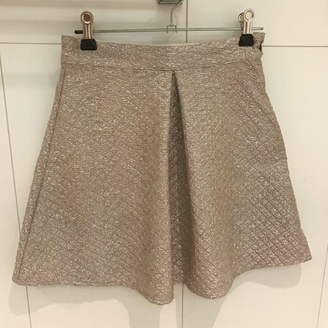 Fairground Pleat Skirt