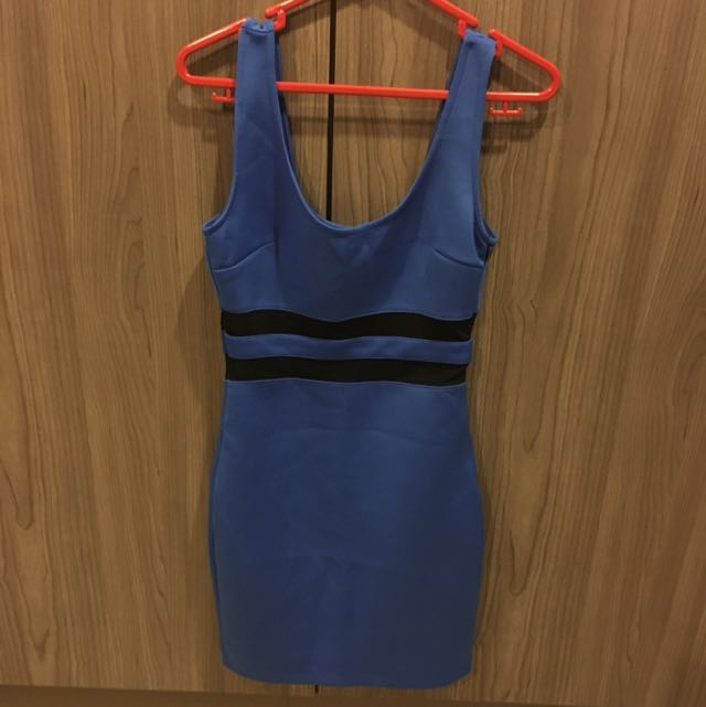 Forever 21 Sexy Blue Dress