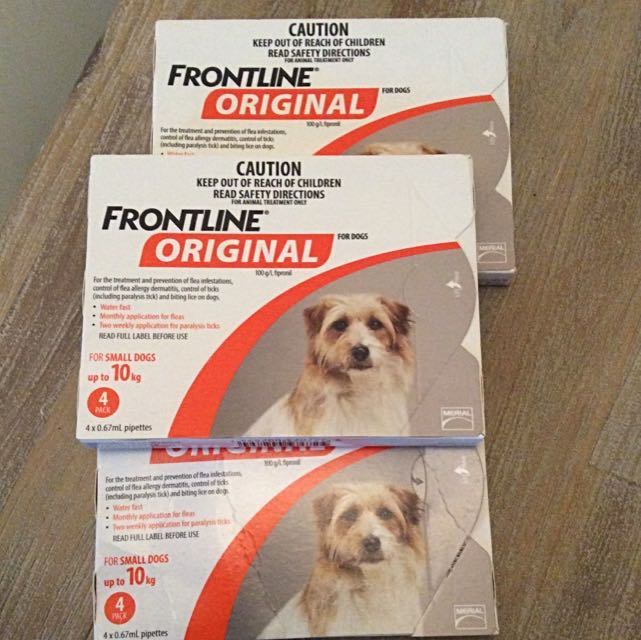 Frontline Original for Dogs Up to 10kg