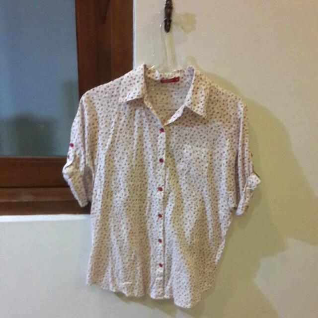 Graphis Littlw Flowery Shirt
