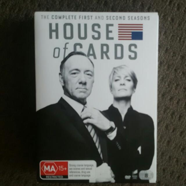 House Of Cards - Complete 1-2 Seasons