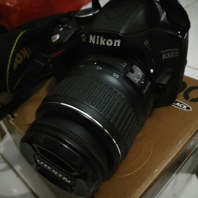 Reprice Kamera nikon d3200