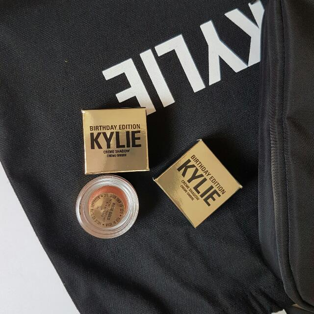 Kylie Creme Shadow in Rose Gold & Copper{BIRTHDAY EDITION}