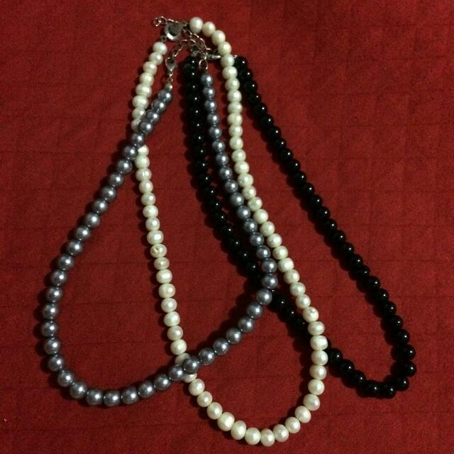 Lot Of 3 Necklace
