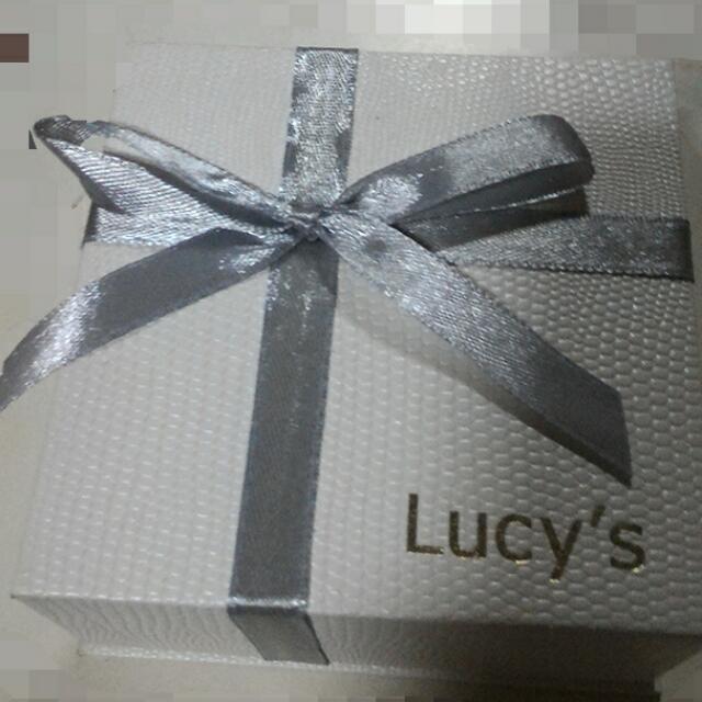 lucy's 愛心翅膀項鍊❤