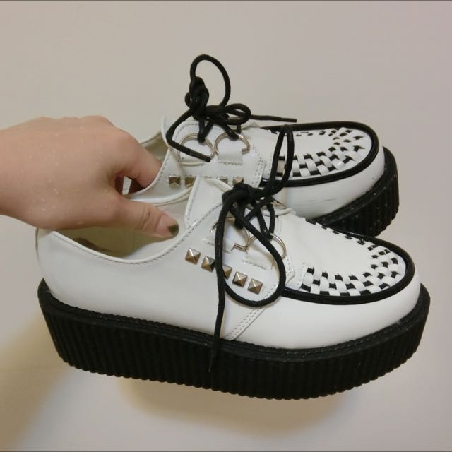 Major Made厚底鞋 36號 白色