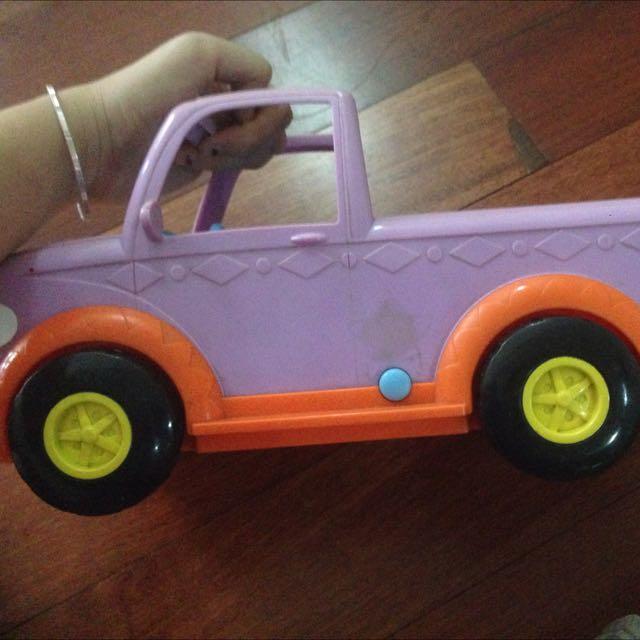 Tidssvarende Mobil Pick Up Dora, Original, Babies & Kids, Toys & Walkers on UO-23