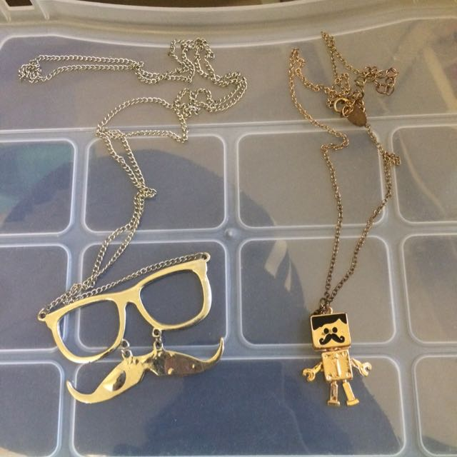 Necklaces Both For $4
