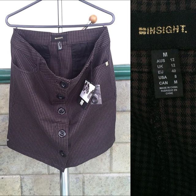 New Insight Skirt With Tag