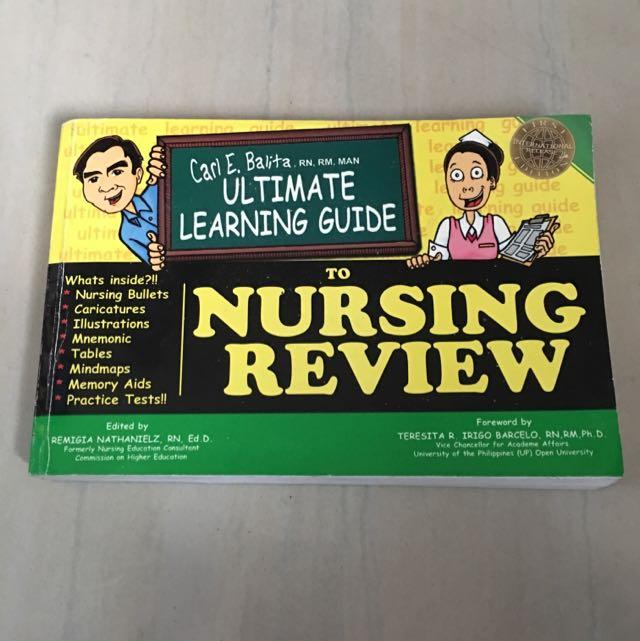 carl balita nursing review book 2019