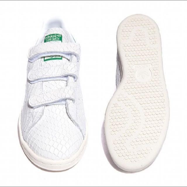 official photos dfbe4 52b68 [PO] Adidas Stan Smith Velcro Croc White/Fairway